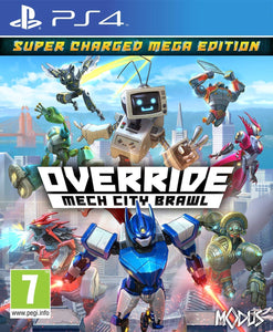Override: Mech City Brawl - Super Charged Mega Edition PS4, PS4, DVDMEGASTORE, DVDMEGASTORE