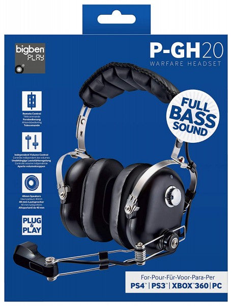 P-GH 20 Mutil Headset PS4 PS3 XBOX 360 PC, Headset, DVDMEGASTORE, DVDMEGASTORE