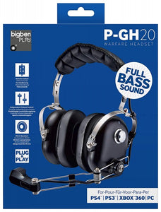 P-GH 20 Mutil Headset PS4 PS3 XBOX 360 PC