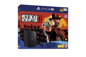 Sony PlayStation 4 Pro (1TB) Console with Red Dead Redemption 2 Bundle New