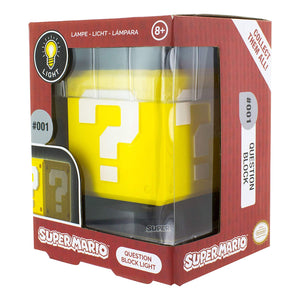 Super Mario Question Block 3D Light, Multi-Colour