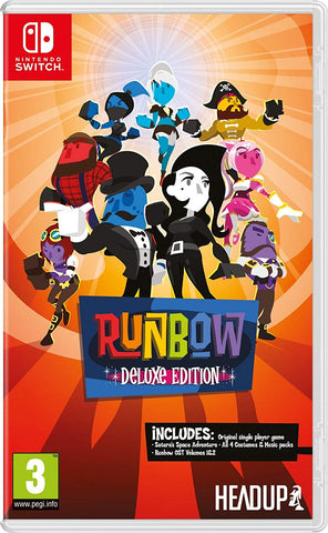 Runbow Deluxe Edition Nintendo Switch