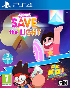 Steven Universe Save The Light And OK K.O.! Lets Play Heroes PS4