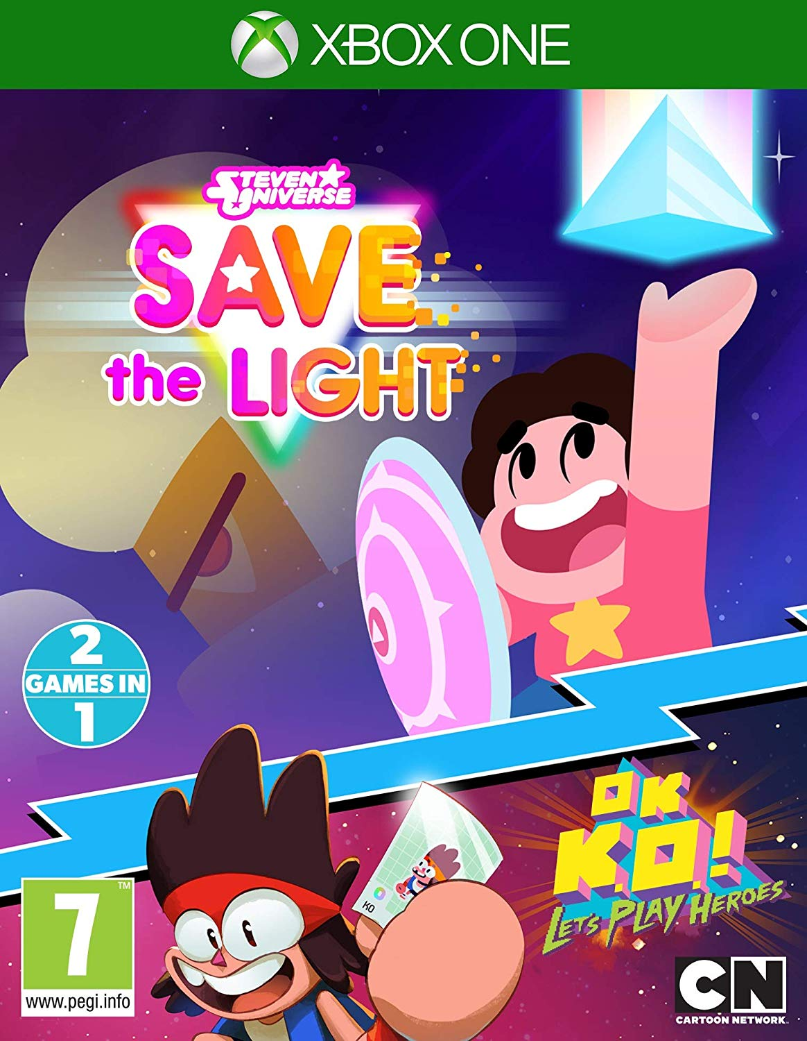 Steven Universe Save The Light And OK K.O.! Lets Play Heroes Xbox One