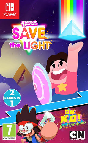 Steven Universe Save The Light And OK K.O.! Lets Play Heroes Nintendo Switch