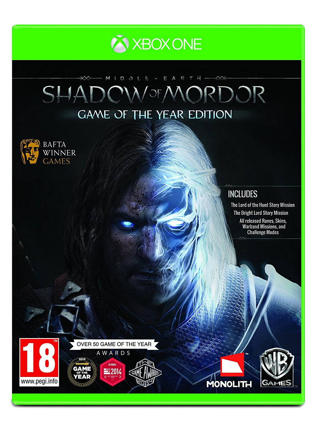 Middle - Earth: Shadow Of Mordor Game Of The Year Edition XBOX ONE, XBOX ONE, DVDMEGASTORE, DVDMEGASTORE