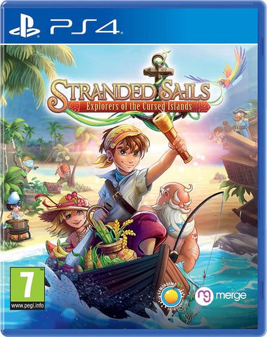 Stranded Sails: Explorers Of The Cursed Islands (PS4), PS4, DVDMEGASTORE, DVDMEGASTORE