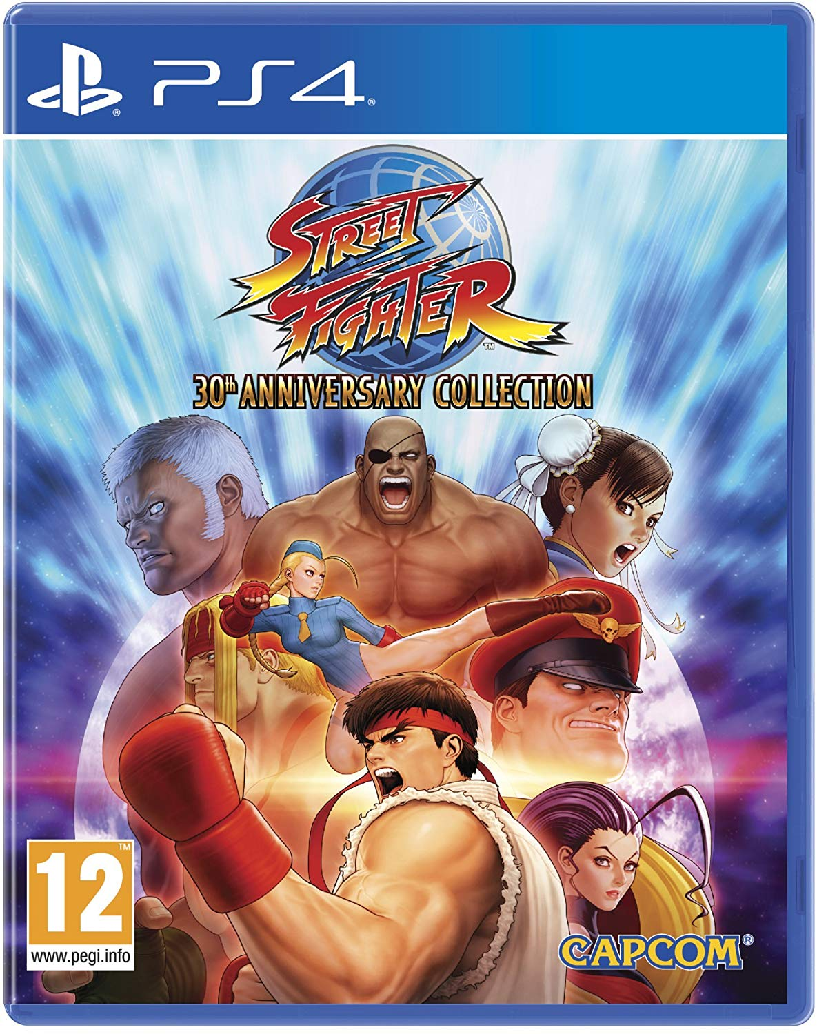 Street Fighter 30th Anniversary Collection PS4, PS4, DVDMEGASTORE, DVDMEGASTORE