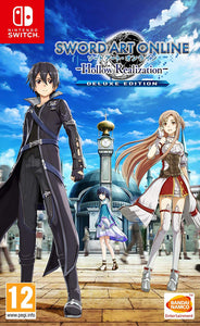 Sword Art Online: Hollow Realisation Deluxe Edition Nintendo Switch, Nintendo Switch, DVDMEGASTORE, DVDMEGASTORE