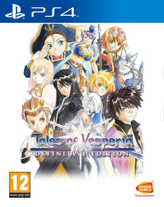 Tales Of Vesperia Definitive Edition PS4