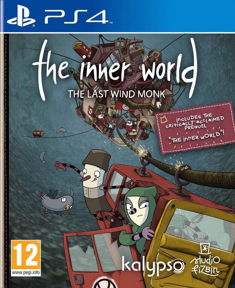 The Inner World The Last Wind Monk PS4, PS4, DVDMEGASTORE, DVDMEGASTORE