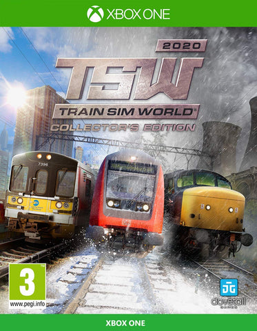 Train Sim World 2020: Collector's Edition - Xbox One (Xbox One), XBOX ONE, DVDMEGASTORE, DVDMEGASTORE