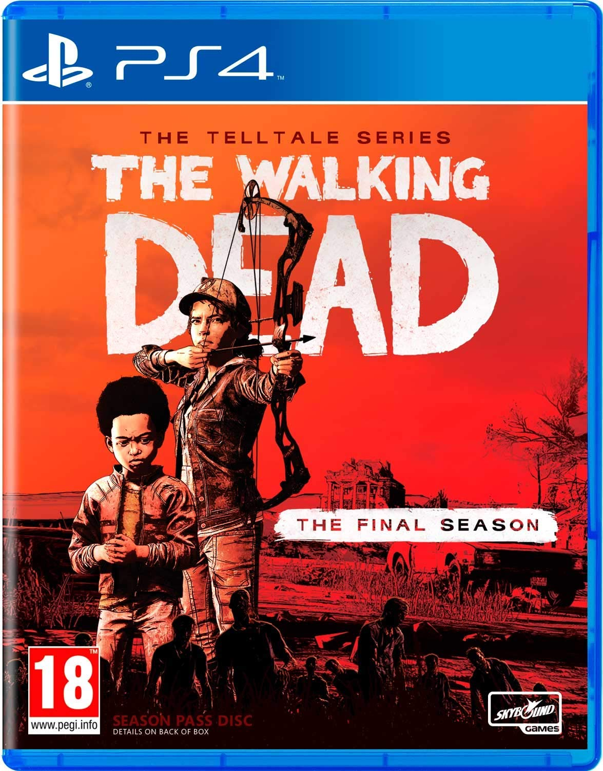 Telltale's The Walking Dead: The Final Season PS4