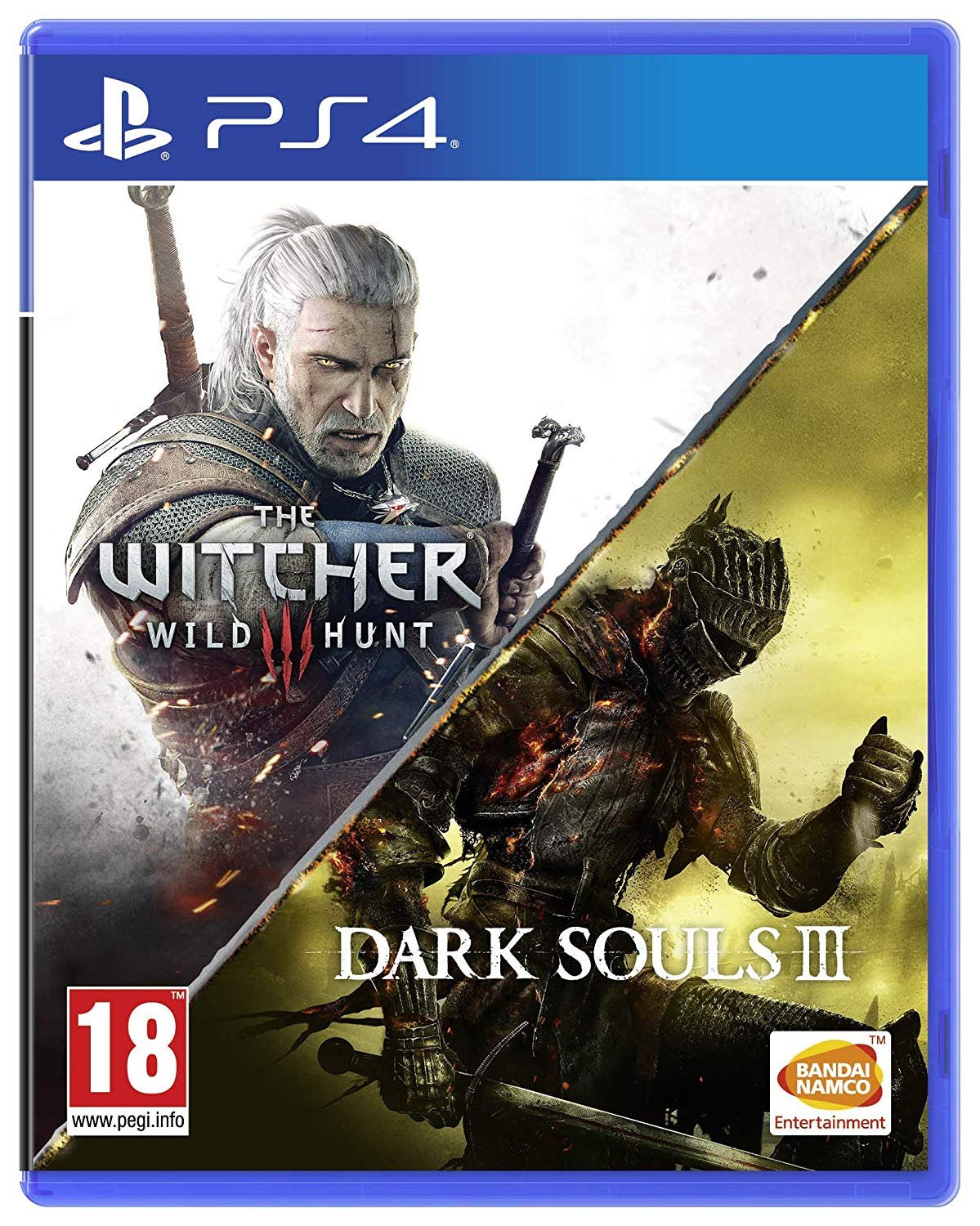Dark Souls III & The Witcher 3 Wild Hunt Compilation PS4, PS4, DVDMEGASTORE, DVDMEGASTORE