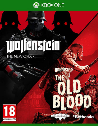 Wolfenstein The New Order and The Old Blood Double Pack Xbox One