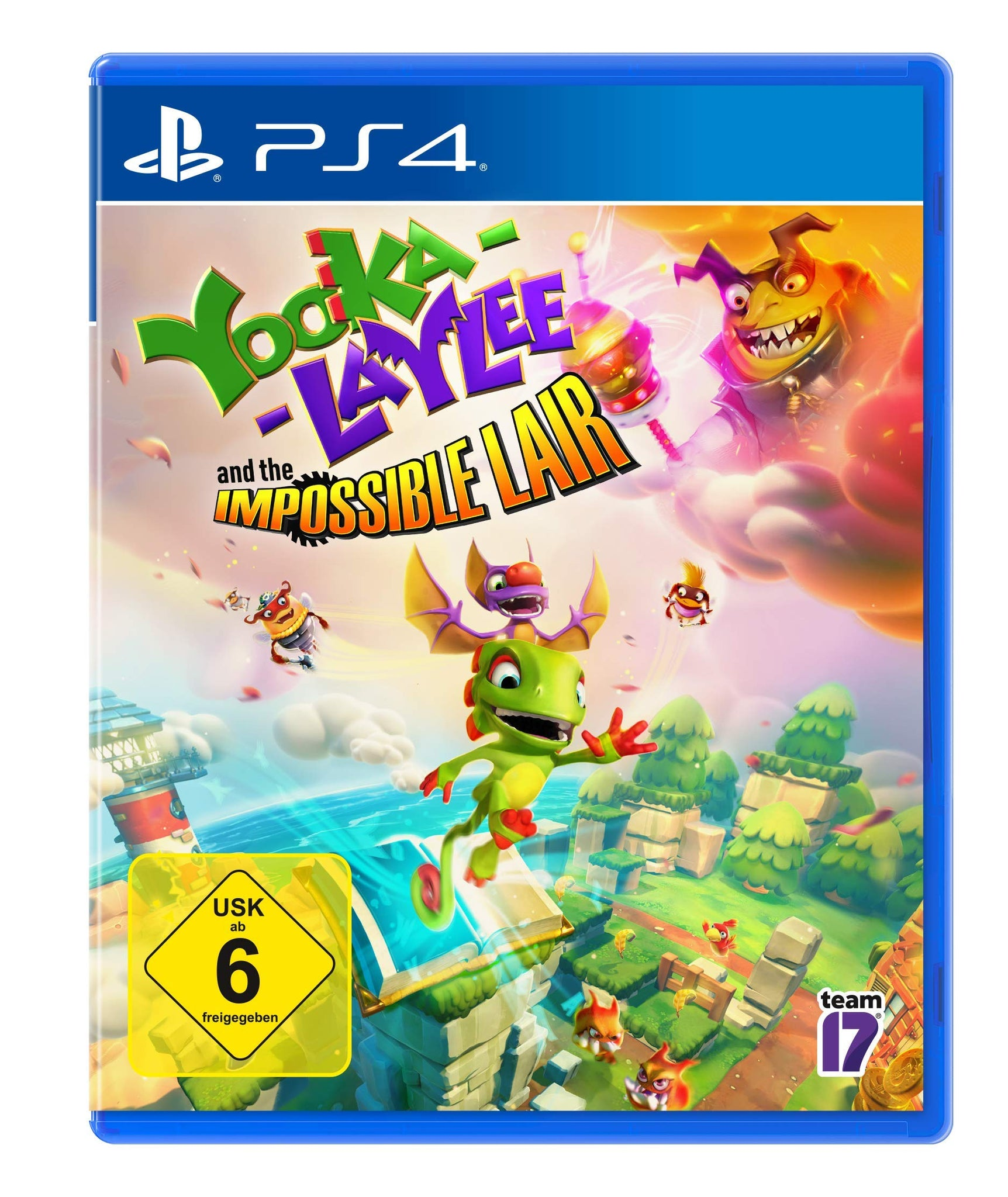 Yooka-Laylee: The Impossible Lair - PlayStation 4, PS4, DVDMEGASTORE, DVDMEGASTORE