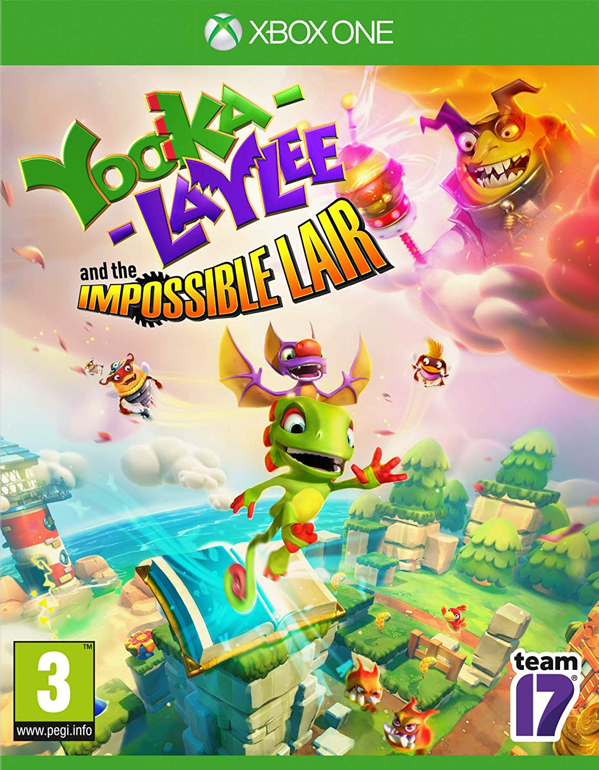 Yooka-Laylee and the Impossible Lair Xbox One, XBOX ONE, DVDMEGASTORE, DVDMEGASTORE