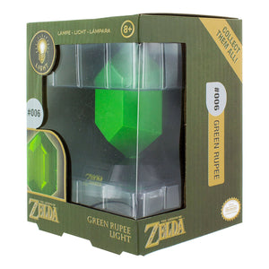 The Legend Of Zelda Green Rupee 3D Light, Multi-Colour