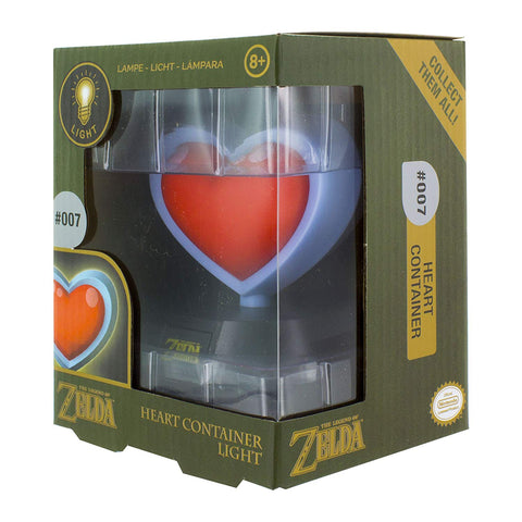 The Legend Of Zelda Heart Container 3D Light, Multi-Colour