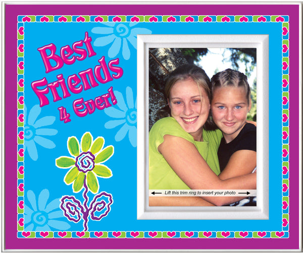 best friends 4 ever picture frame