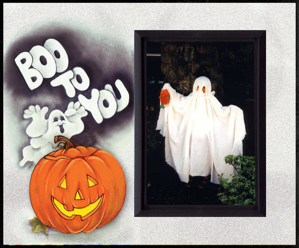 boo to you halloween picture frame