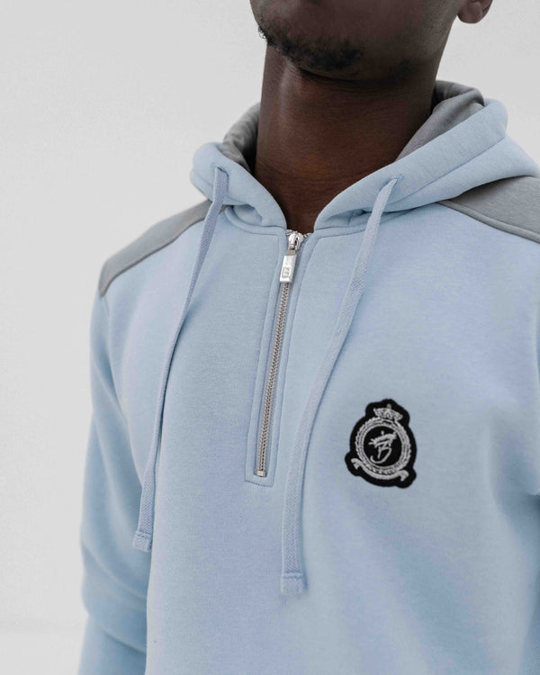 Benjart HRH Quarter Zip set - Ice Blue