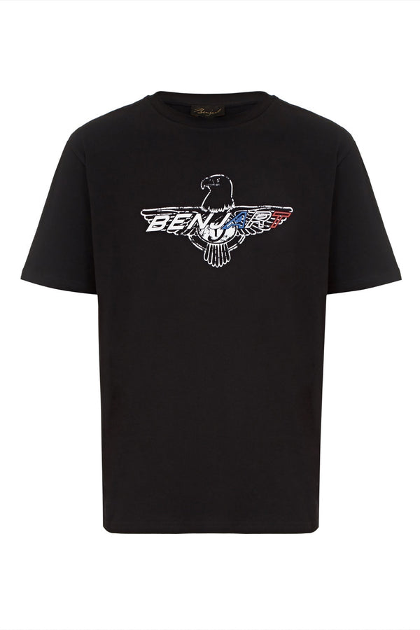 Benjart Hawk T-Shirt - Black