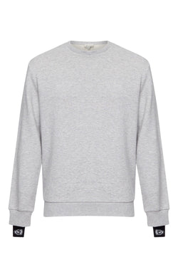 Benjart Taped Crewneck - Grey