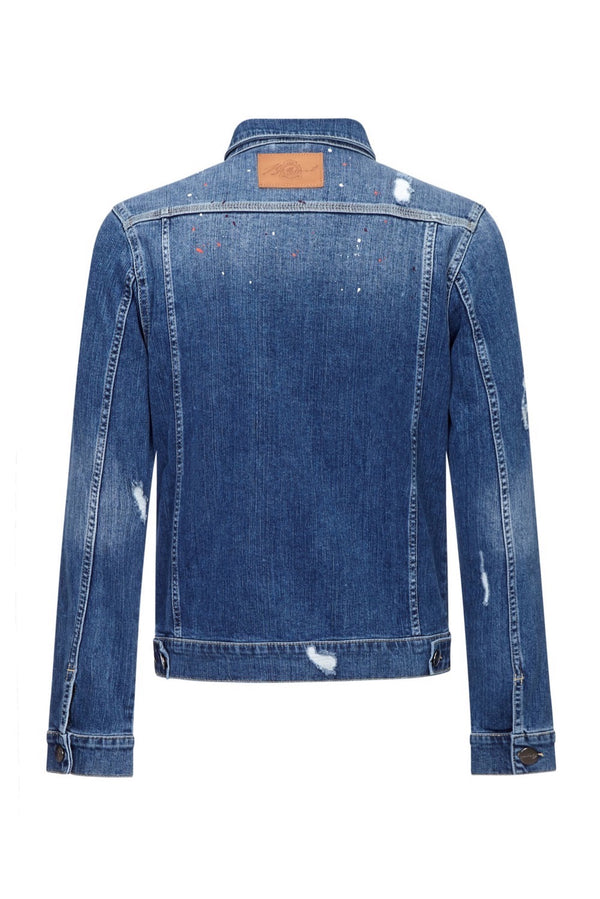 Benjart Denim Jacket - Dark Blue