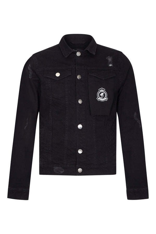 Benjart Denim Jacket -Black