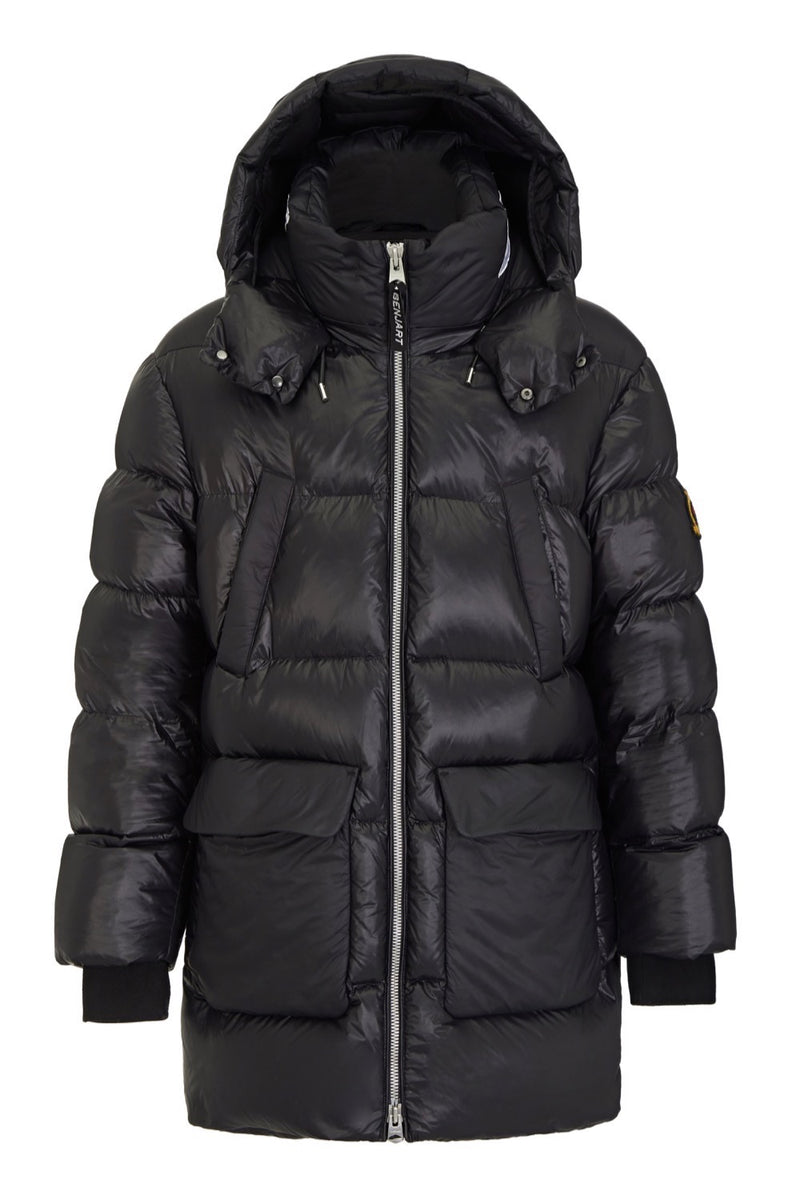 Benjart Stealth Black Puffer Jacket