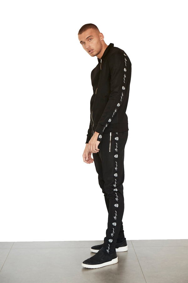 Benjart Taped Jogger - Black