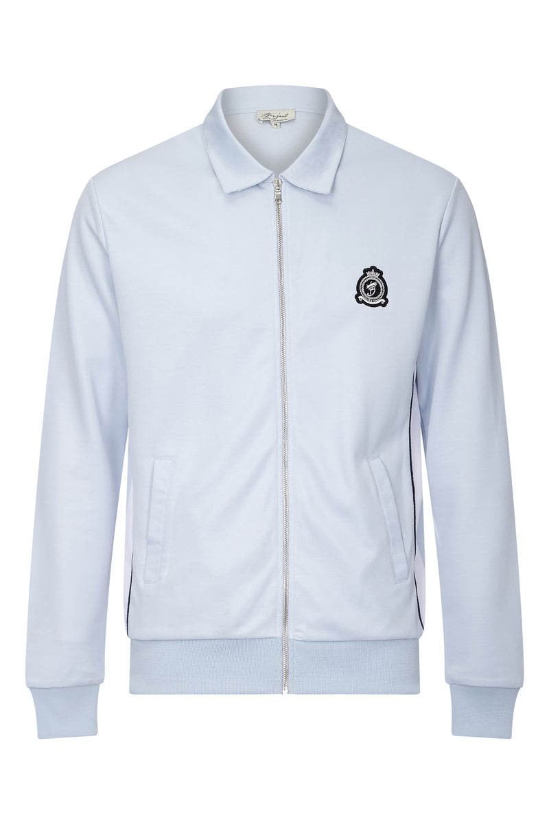 Benjart Lux 2.0 - ice blue Zip Collar jacket