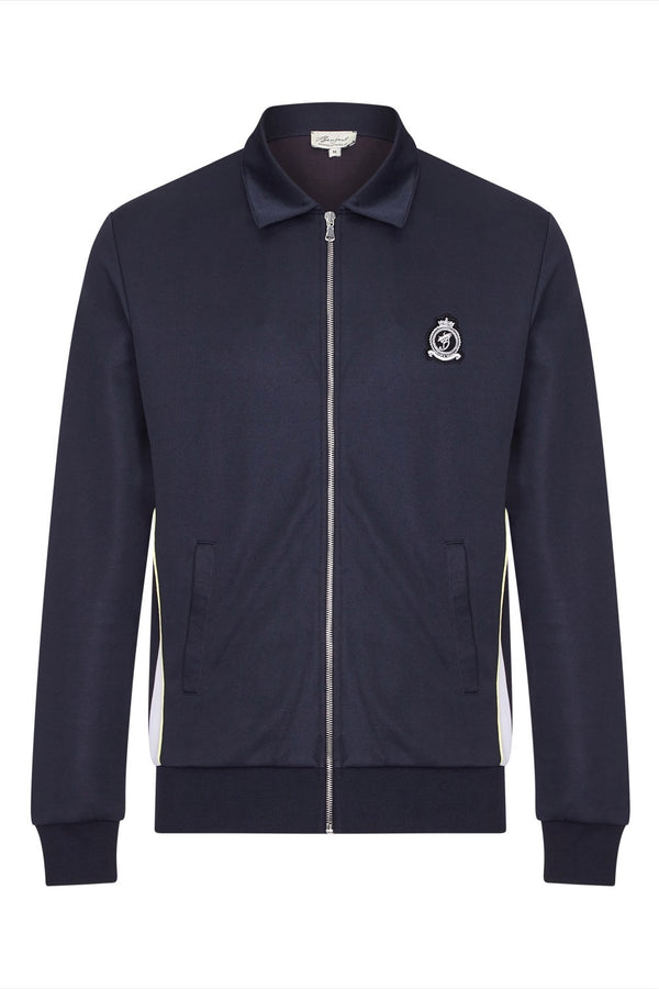 Benjart Lux 2.0 - Navy Zip Collar jacket