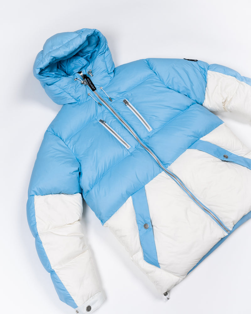 Benjart Racer - Dual puffer 'cloud 9' - ice blue / white PRE ORDER- ITEM SHIPS AFTER 18TH NOV