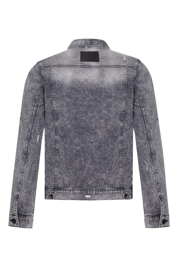 Benjart Denim Jacket - Grey