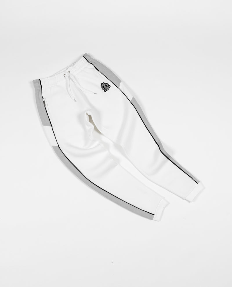 Benjart Hrh chrome contrast joggers - Bright white