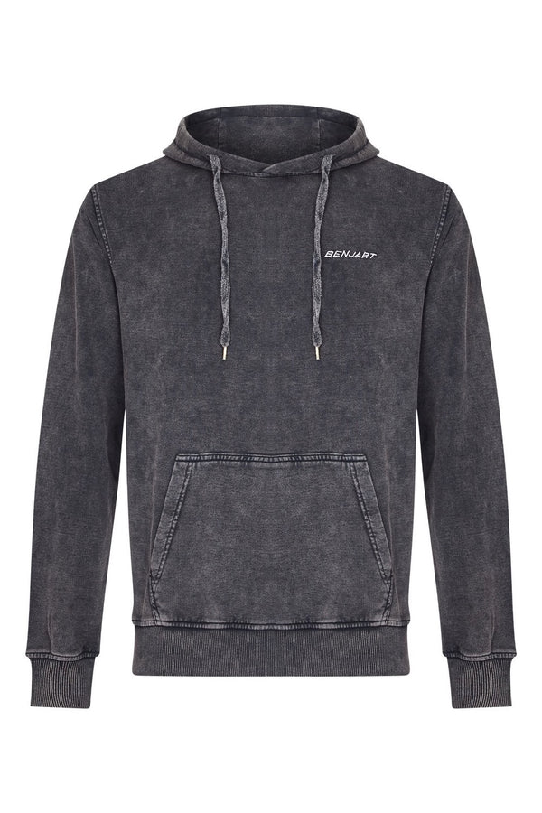 Benjart Racer Stone washed pullover