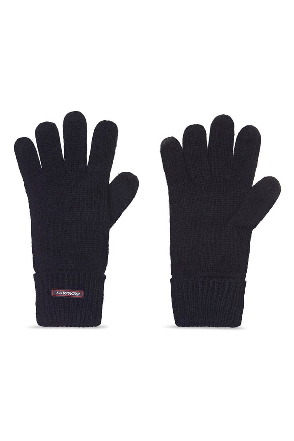 Benjart Racer Badge gloves - Black