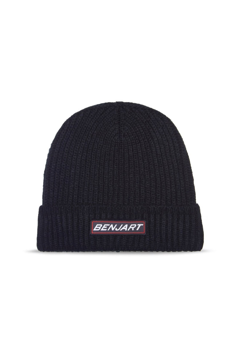 Benjart Racer Badge beanie - Black