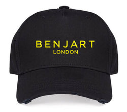 Benjart London Cap - Black/Neon Yellow