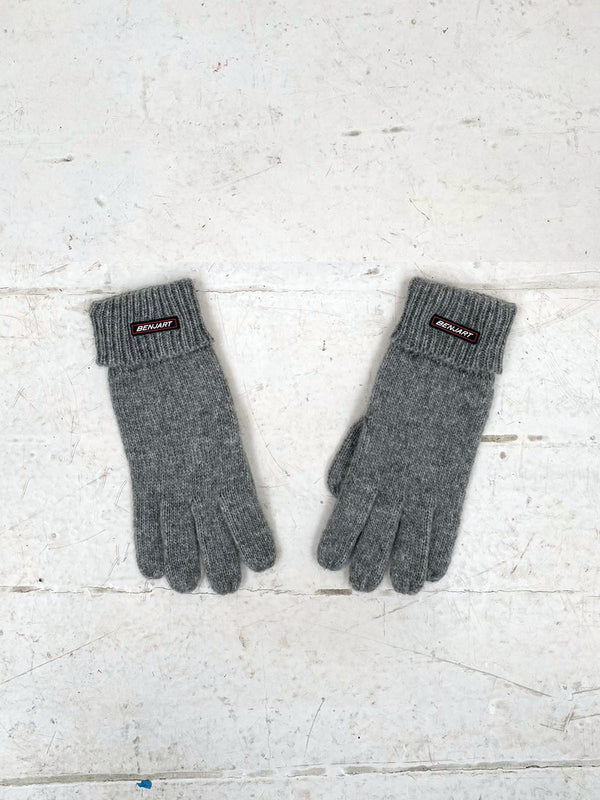 Benjart Racer Badge gloves - Grey