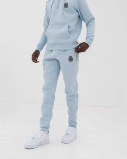 Benjart HRH Quarter Zip Joggers - Ice Blue/Grey