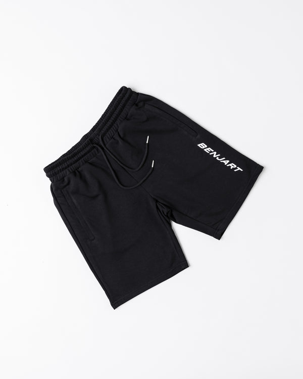 Benjart Racer short - Black/White