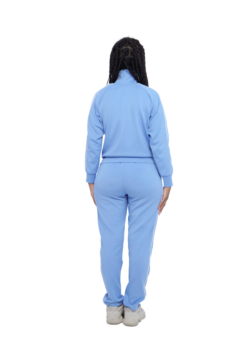 Benjart For Her - premium Racer joggers - ice blue