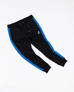 Benjart HRH striped joggers - Black/blue