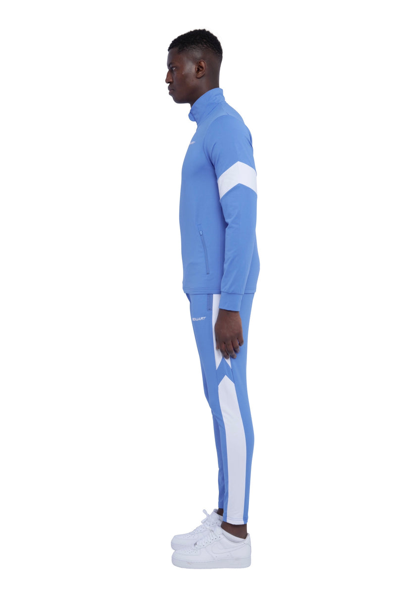 Benjart- Athleisure Mid Blue/white  - JOGGERS