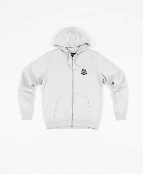 Hrh Benjart zip hood - Cloud grey - PREORDER