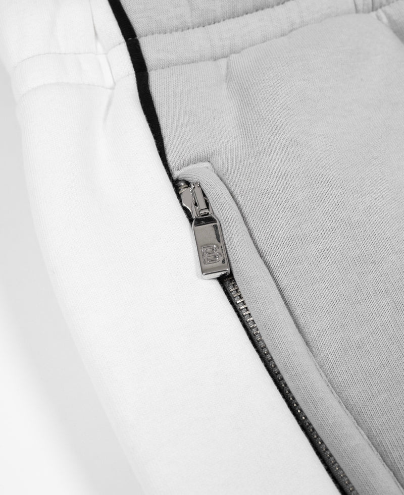 Benjart Hrh chrome contrast joggers - Ice grey