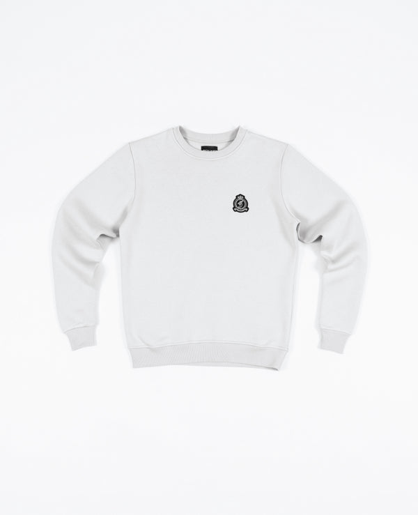 Benjart HRH Crewneck - Cloud Grey (Small emblem) PREORDER